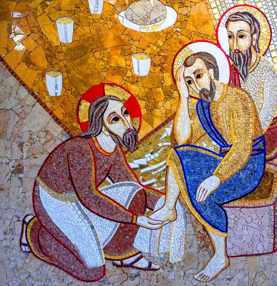 Molitveno slavlje Velikoga četvrtka u obitelji