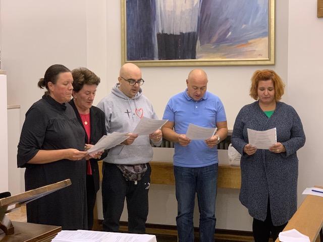Izborni kapitul Franjevačkog svjetovnog reda mjesnog bratstva Majke Božje Lurdske u Zagrebu